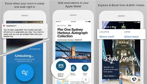 marriott mobile app marriott international introduces redesigned mobile app