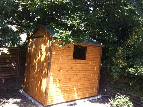 7x5 wooden shed the shed build
