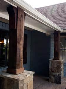 Home Exterior Design With Pillars Photo Page Hgtv