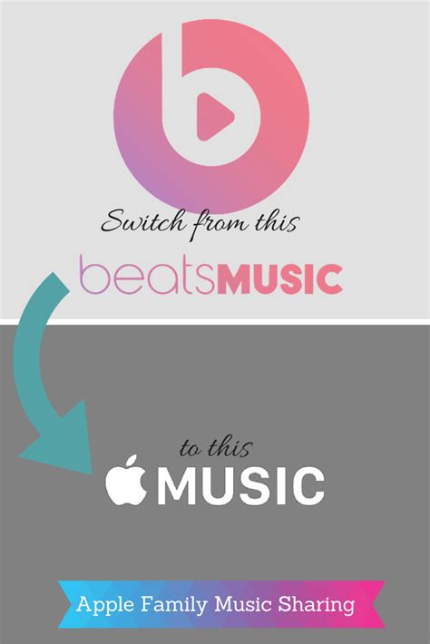 apple family sharing how to switch from music to the new apple family music