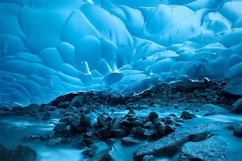 Icy Blue by Go See The Mendenhall Ice Cave Before It Melts