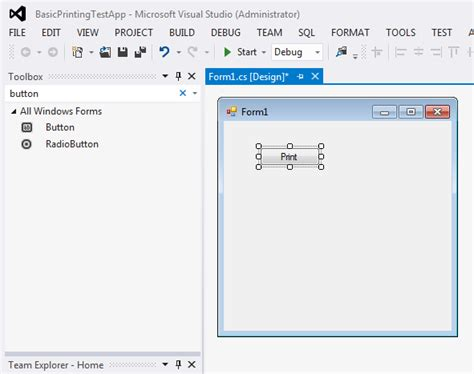 design form visual studio 2012 whiteboard coder visual studio 2012 c basic printing