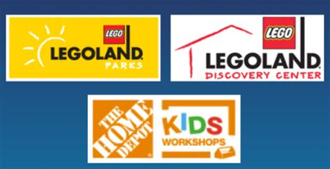 home depot free children s ticket to legoland or sea