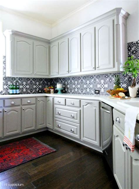 paint color is mindful gray sherwin williams and tile backsplash is home depot merola tile