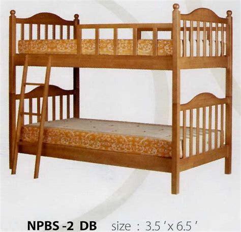 Ranjang Susundipan Susun Tingkat Jati 4 ranjang tidur susun kayu jati ta005 mebel jati