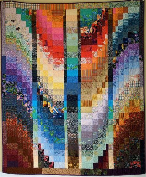 bunte steppdecken 1005 besten bargello quilts bilder auf