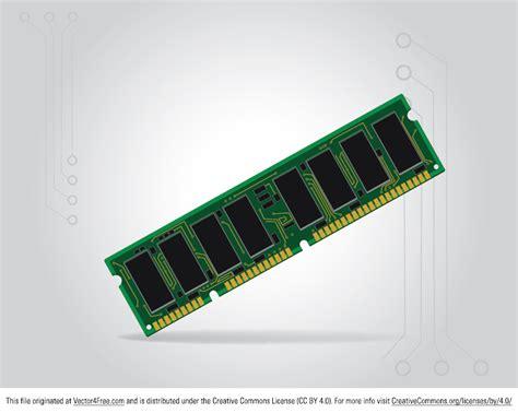 ram memory cards free computer ram memory card vector
