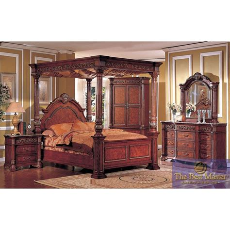 canopy king bedroom set king canopy bedroom sets