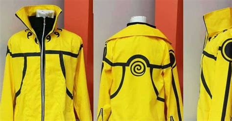 Jaket Kurama Mode Chidoriheartless berita jepang bandung jual jaket kurama mode biju mode kuning
