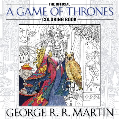 Official Of Thrones Coloring Book