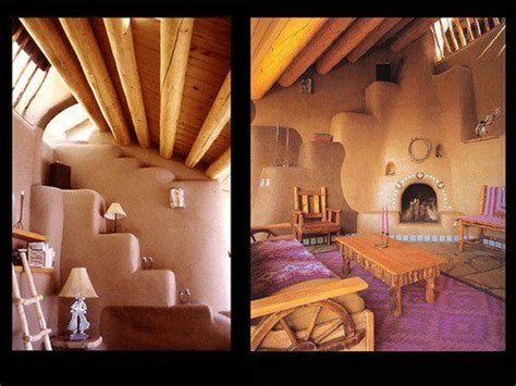 Earthship Interior by Green Home Earthship