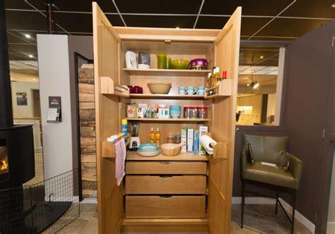oak framed  display pantry unit midlands  kitchen