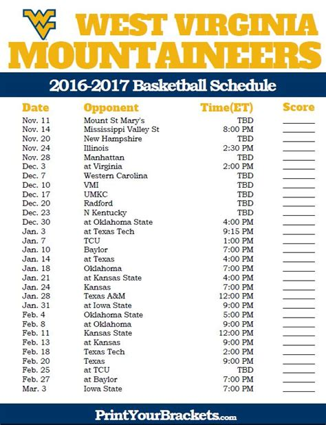 basketball calendar template 75 best college basketball schedules images on