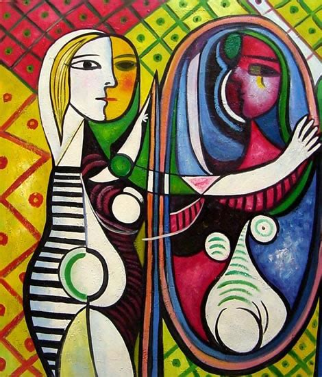 picasso paintings in mirror happy birthday pablo american lost in mallorca