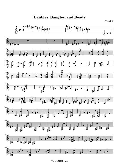 baubles bangles and lyrics baubles bangles and sheet baubles bangles