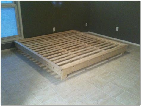 king platform bed plans king size platform bed plans beds home design ideas