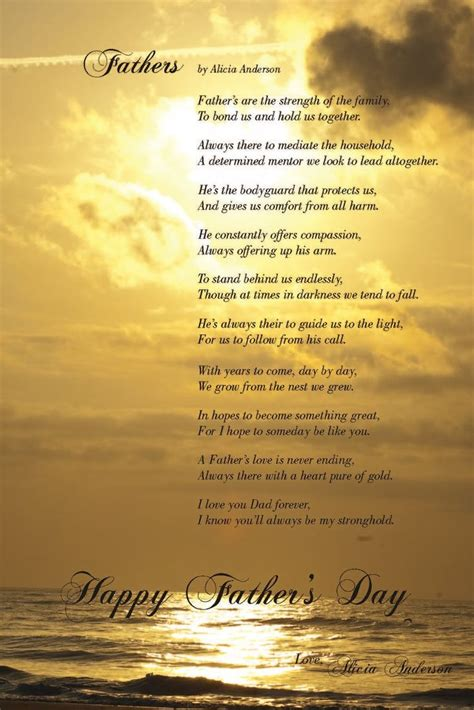 christian fathers day poem christian poems for my s and s