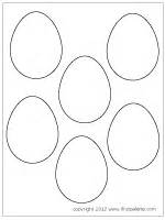 small easter egg template easter eggs printable templates coloring pages
