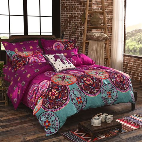 bedding sets full national style duvet cover set winter cover bedsheet
