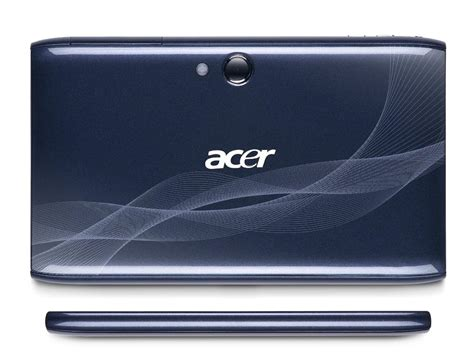 Tablet Android Acer Iconia acer aspire iconia tab a100 android tablet gadgetsin