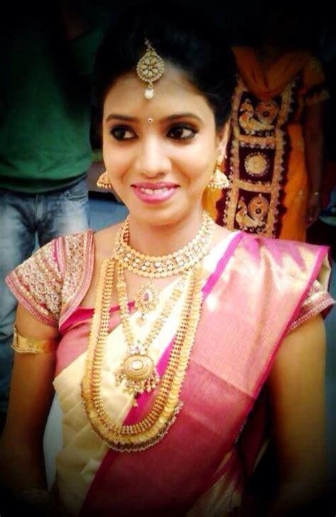 on pinterest saree blouse south indian bride and bridal sarees traditional south indian bride wearing bridal saree and