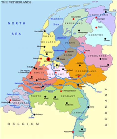 netherlands climate map netherland maps map of netherland political railway