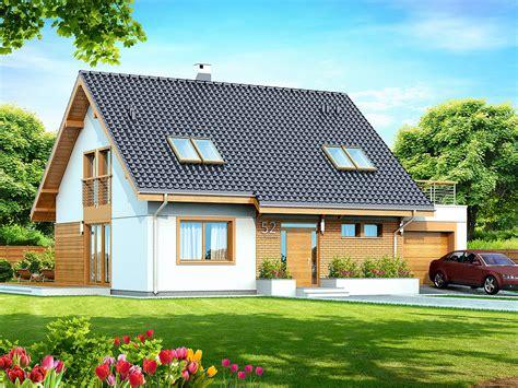 Delisa Wd projekt domu delisa tjq 635 134 12m 178