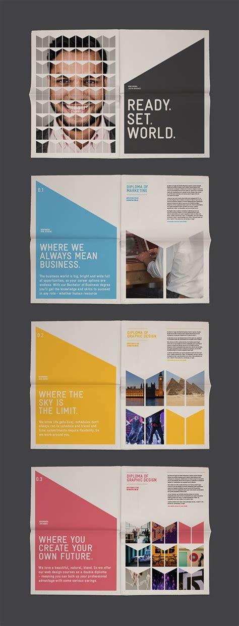 themes for college brochures les 25 meilleures id 233 es concernant prospectus sur