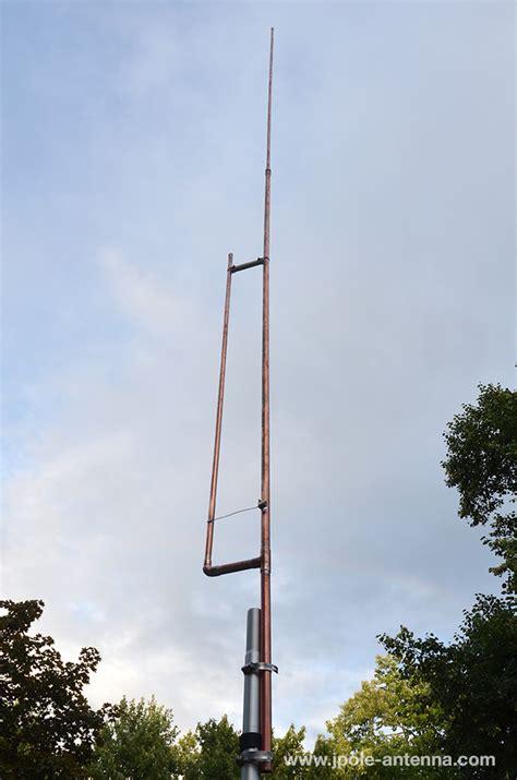 meter  pole amateur radio antenna kbvbr  pole antennas