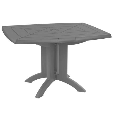 table de terrasse pliante table de jardin pliante grosfillex