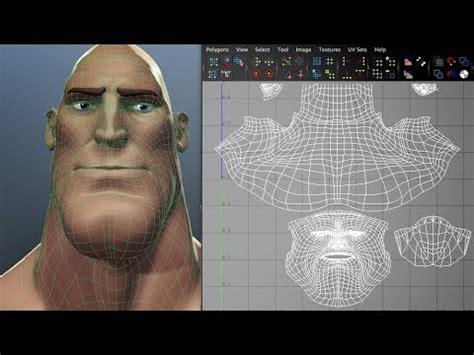 zbrush unwrap tutorial human head uv mapping tutorial in maya funnycat tv
