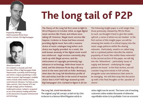 long tail theory contradicted as study reveals the times report challenges long tail theory on p2p networks wired