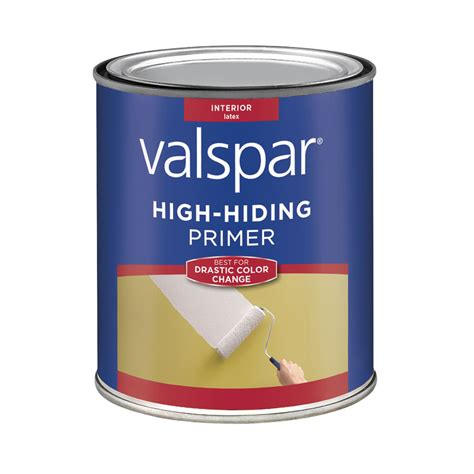 shop valspar 1 quart interior primer at lowes