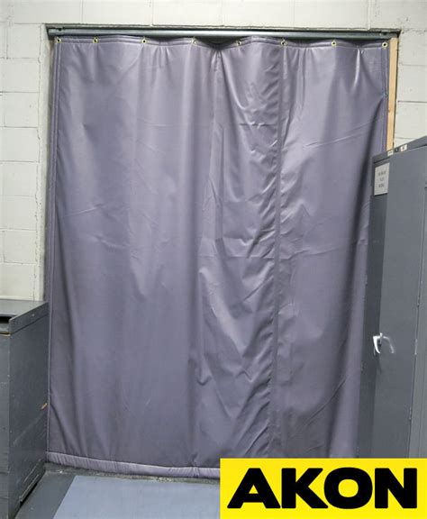 insulated industrial curtains insulated curtain walls akon curtain and dividers