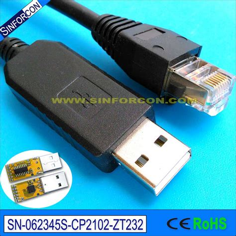 Converter Rj11 To Usb silabs cp2102 usb rs232 to rj11 rj12 rj45 converter cp2102 usb serial adapter cable in computer
