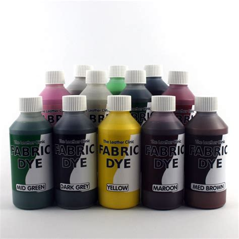 upholstery dyeing liquid fabric dye all colours for sofa car cotton denim
