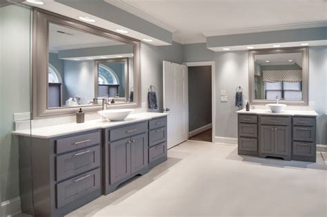 Houzz White Kitchen Cabinets classic modern bathroom