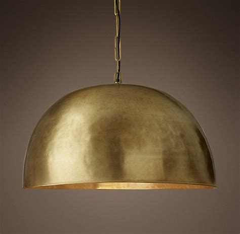 aged brass morrison pendant