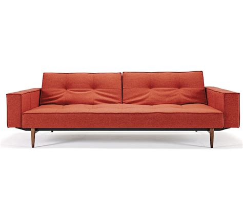 split sofa bed modern splitback deluxe convertible sofa bed with arms