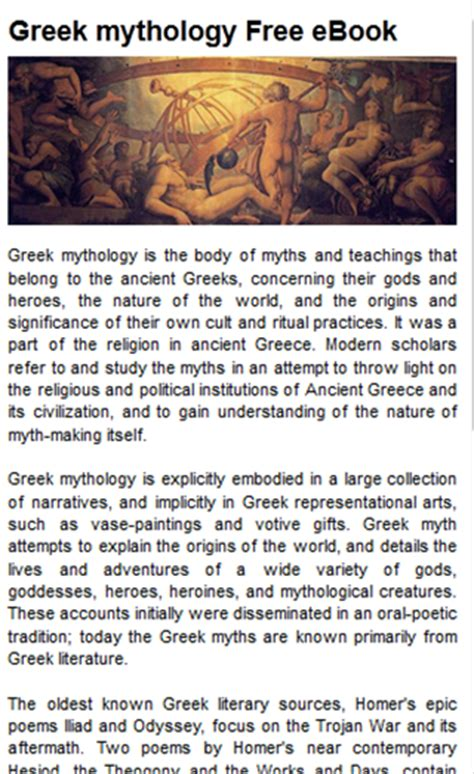 mythology unlock the stories of the gods goddesses and mythical beasts books mythology free ebook 1 1 apk android