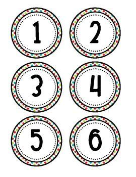printable numbers on circles here s a set of number circles from 1 36 number