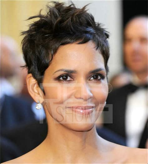 halle berry short pixie wig halle berry celebrity brazilian human hair short hairstyle