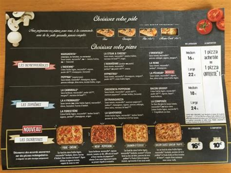 domino pizza france menu page 3 picture of domino s pizza levallois perret