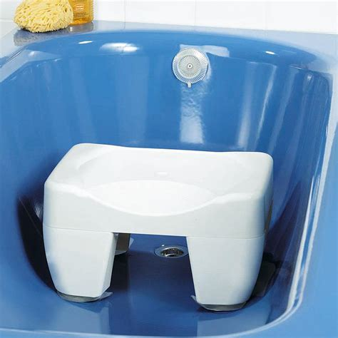 Plastic Stools For Showers by Bath Shower Stool Seat Non Slip Plastic Mobility Aid Ebay