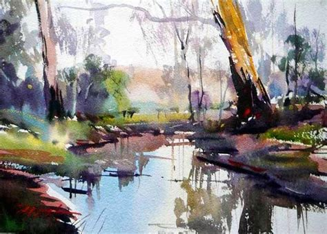 Landscape Artists Work The Watercolour Log Landscape Paintings I Like