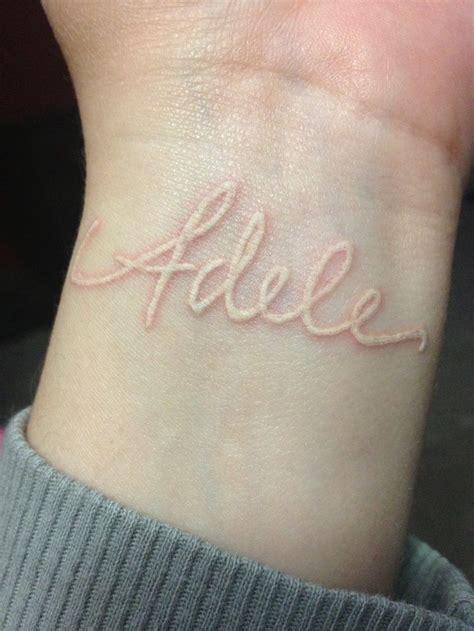 white ink wrist tattoo white tattoos on wrist ink yes tattoos