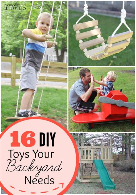 diy backyard play sets and toys tutorials