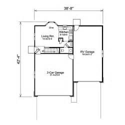 Garage Plans With Living Quarters by Rv Garage Plans With Living Quarters 171 Unique House Plans