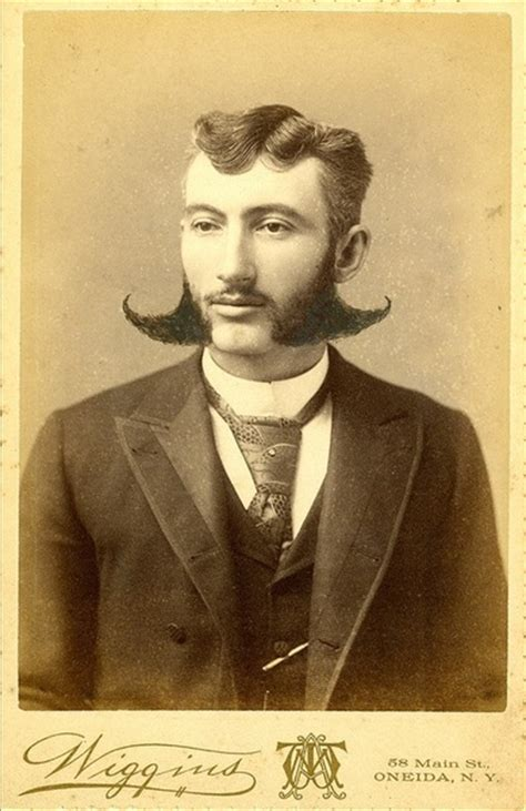 mens sideburns styles throught the centuries facial hair fly away sideburn wings 19th century