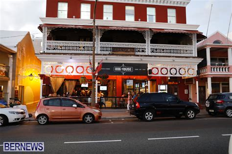 dog house bar the dog house bar opens on front street bernews